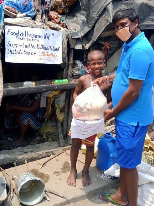 Kolkata Relief Kit Delivery